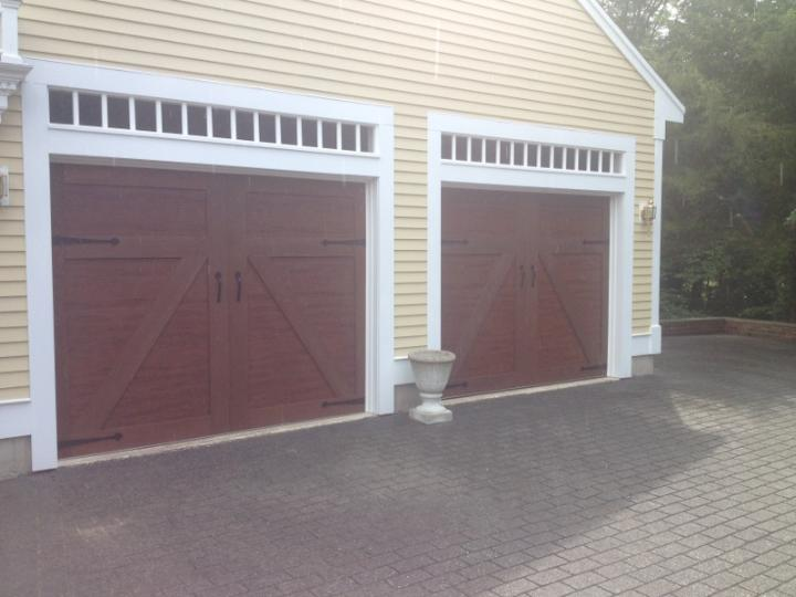 Lizzie's garage door installation